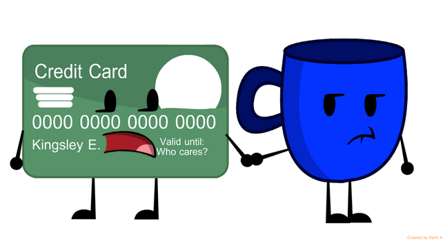 Credit Card And Cup by thedrksiren