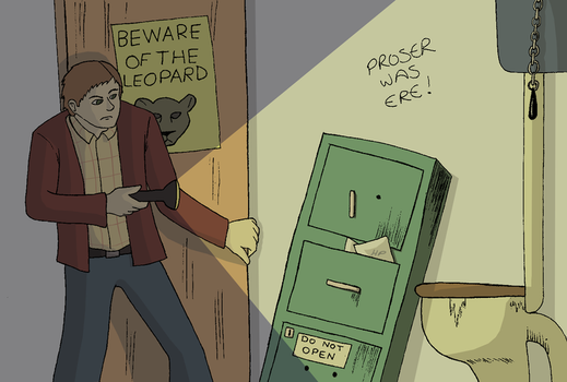 Beware of the leopard by ParrishArt
