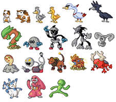 New Custom Pokemon Set 2