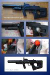 Halo M-7 Submachine gun by fixinman