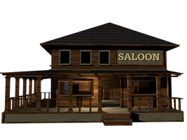 Saloon png by mysticmorning