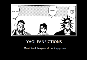 Bleach: Yaoi Fanfictions by Tyranecia
