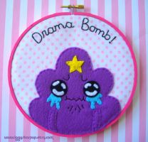 Lumpy Space Princess Embroidery by iggystarpup