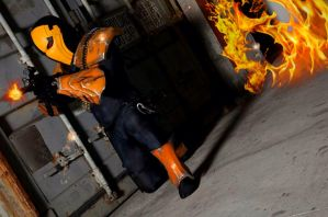 Deathstroke:Injustice - Firefight by Cadmus130