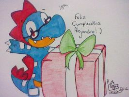 Happy B-Day Alejandro! by SapphireLiz