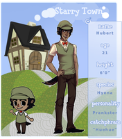 Starry Town: Hubert by PrinceYapi