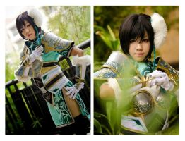 Dynasty Warriors 7: Xing Cai by ki-ri-ka