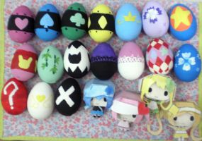 Shugo Chara Easter :2012 : by drawwithme15