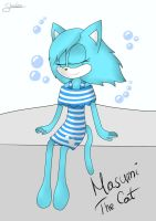 .:Request:. Masumi The Cat .:Request:. by LeslieElena19