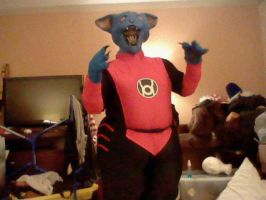 Red Lantern Dex-Starr Cosplay by SpaceRanger108