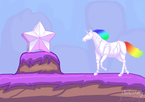 Robot Unicorn Attack by cheshirekttty