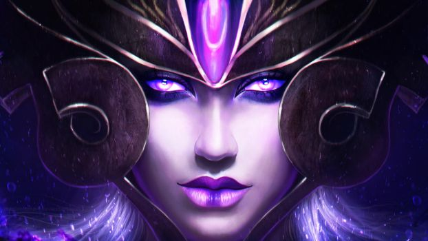 Syndra - the Dark Sovereign by MagicnaAnavi