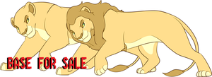 Lion Base for Sale CLOSED by oCrystal