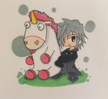 Zexion - IT'S SO FLUFFY!!! by lollypop071