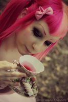 pink tea by toxica0