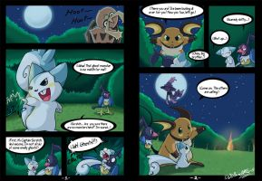 Riolu is Born - Page 1-2 by TamarinFrog