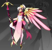Magical Mercy Skin by Lespapillions