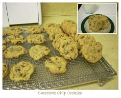 Chocolate Chip Cookies by pantherwitch4982