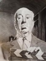 Alfred Hitchcock by PatrickRyant