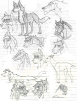 Sketches Again II by ZappyAttack