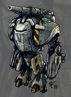 Powerarmour concept by RobertFriis