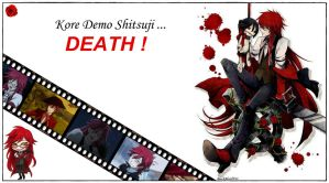 Grell Sutcliff Wallpaper by BlackBloodFire