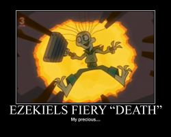 Total Drama Ezekiel Death by AbominationOfTime