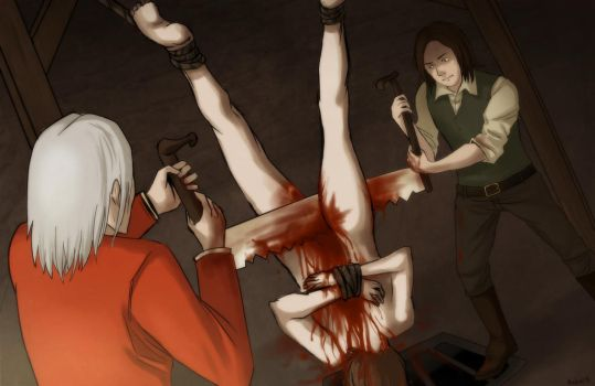 Amnesia- Saw Torture chamber by Mafer