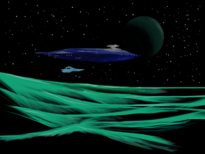 Descent on the Jade Planet by philippeL