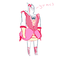 Frilly Pink Batman by C10ckw0rk