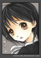 Little girl (CLAMP style) by Monecule