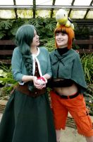 Pokemon Cosplay Cheryl and Gardenia: HEY THERE by LadyofRohan87