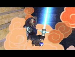 Dark Link's head a spload by Subspace-Journalist
