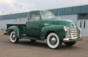 Mint Chevy truck by finhead4ever