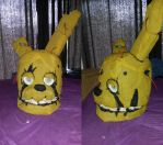 Springtrap Head Cosplay - Finished! by Lundain