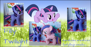 My little Pony FIM Filly Twilight Sparkle Custom by Asukatze