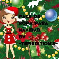 Pack de ropa para navidad By ~TefiEdition's~ by EstefiEdiciones