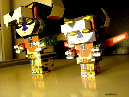 Voltron_pic MEGA and Small by randyfivesix