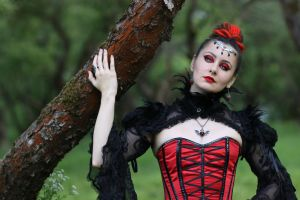in red and black 05 by Anna-LovelyMonster