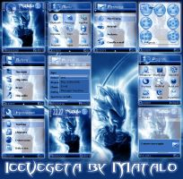 IceVegeta nokia theme by Mataloo