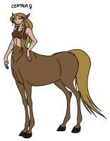 Narnia Races: Female Centaur by Jakegothicsnake