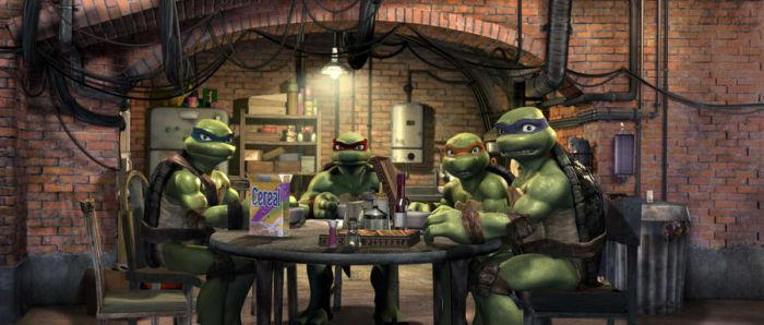 TMNT-Breakfast Scene by Turtlefan926