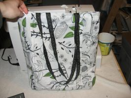 Tote Bag- Birds by Dye-Another-Day