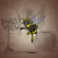 Angela's Magic Lesson - Wicked Wasp by Mr-DNA