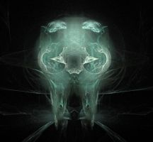 Ice skull tooth by Holophite