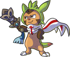 Sir Chespin by MomosArts