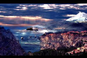 coastal dream landscape by duelord