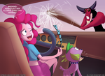 Commission: Pinkie Ventura by zelc-face