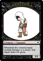 Assassin Token 01 - Chibi by Drayle88