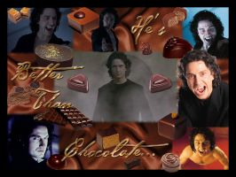 Gerry and Chocolate Wallpaper by ThreeRingCinema